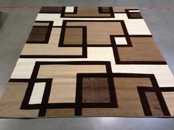 Stunning Designer Contemporary Carved Area Rug 9x13
