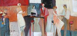 Original Signed Acrylic on Canvas by Yuri Tremler
