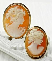 Estate Cameo Ring & Pendant Set