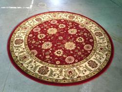 Stunning Classic Allover Mahal  Design  8ft Round Rug