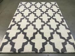 Super Soft Silky Feel Microfiber Contemporary Rug 7x10