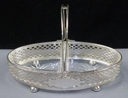 COLLECTIBLE STERLING SILVER BASKET