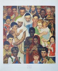Incredible Norman Rockwell Collotype