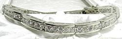 3.25 CTW Diamond & 14KT Gold Bracelet