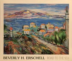 MESMERIZING BEVERLY H. ERSCHELL LITHOPRINT