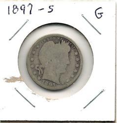 1897-S Barber Quarter