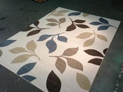 Decorative Contemporary Design Area Rug, 8x11