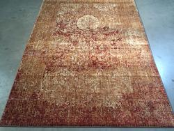 Classic Vintage Reproduction Distress Design Rug 6x8