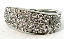 Gorgeous 58 Diamond High Quality 14Kt Band