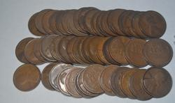 Roll of 1915 D Lincolns