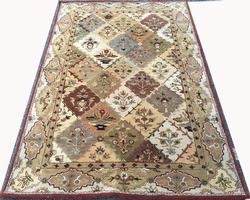 Unique Color Fine Four Season Persian Bakhtiari Design Rug