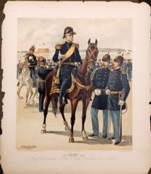 Ogden Antique Color Lithograph