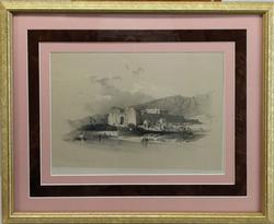 Excellent Antique David Roberts Lithograph Circa 1838