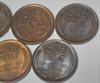 1909   X 5  BU Lincoln Cents