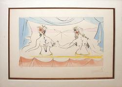 HIGHLY COLLECTIBLE LITHOGRAPH BY SALVADOR DALI