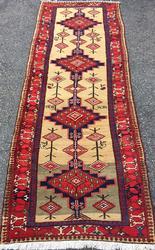 Inspiring Mid-20th C. Authentic Handmade Vintage Persian Sarab