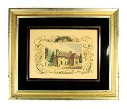 GREAT RARE COLLECTIBLE HISTORICAL PENN'S RESIDENCE ORIG