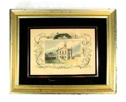 RARE VINTAGE HISTORICAL CARPENTERS' HALL AND CONGRESS