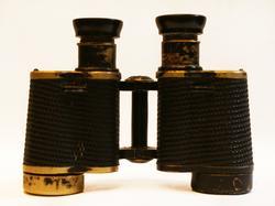 Rare Soviet Military WWII Binoculars 6:30 Circa 1944