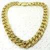 Italian Made Wide Double Link Necklace