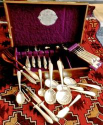Set of Kirk Sterling Cynthia Flatware