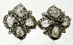 Stunning and Rare Diamond Earrings