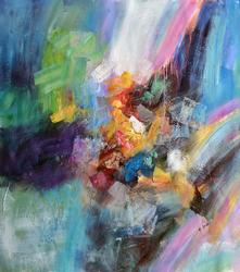 Fabulous Gailey Original Abstract Painting