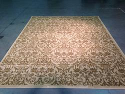 Classic French Damask Design Area Rug 8'x10'