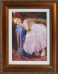 BEAUTIFUL PINO PARTY DREAMS HAND SIGNED GICLEE
