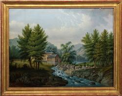 Brilliantly Executed 19th Century American School Original Painting