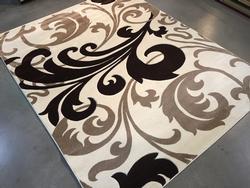 Exquisite Decorative Modern Design Carved Area Rug 6x8