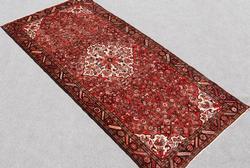 Beautiful Allover Design Semi Antique Persian Hosseinabad