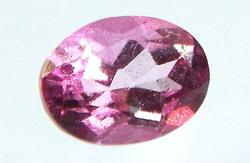 Exceptional High Quality Pink Tourmaline Oval Gemstone