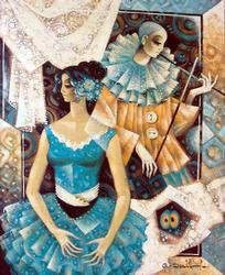 Galina Datloof Magnificent Original