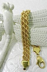 Nice & Think, 18k Triple Rope Bracelet