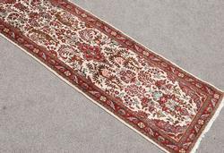 Simply Beautiful Genuine Handmade Persian Heriz Runner