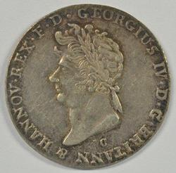 Nice 1827-B German States (Hanover) 2/3 Silver Thaler