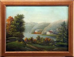 Vintage Early 20th Century American School Painting