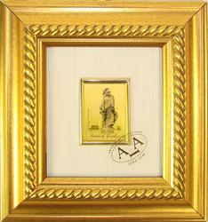 COLLECTIBLE LIMITED CERTIFIED 23K GOLD LEAF MONUMENT