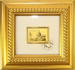 Italian Craft Certified 23K Gold Leaf ART Monument