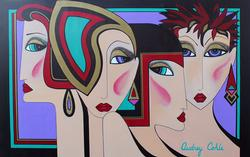 Original Audrey Cohle Acrylic on Canvas