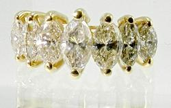 Gorgeous 2 ct. t.w. Band of Marquises