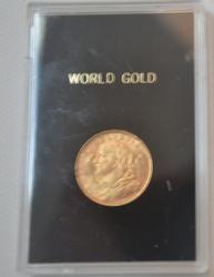 1935 Swiss 20 Franc Gold