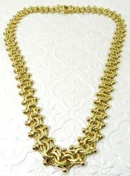 Vintage 18kt Yellow Gold Necklace