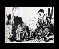 PABLO PICASSO VERVE SUITE GRAVURE FROM 1954