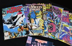 37 Issues of 1980's-1990's Moon Knght by Marvel Comics
