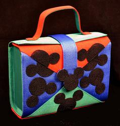 Vintage Mickey Mouse Disney Beaded Handbag