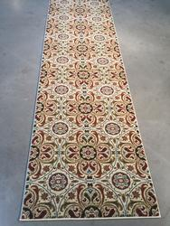 Exquisite Modern Asian Suzini Style Area 8ft Runner