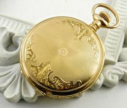14kt Gold Ladies Waltham Pocketwatch