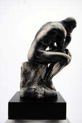 Nicely Detailed Thinker Sculpture
